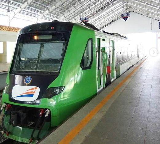 Jadwal Kereta api Minangkabau Express