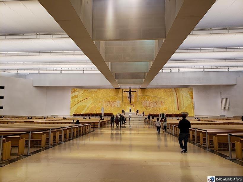 Basílica da Santíssima Trindade - O que fazer em Fátima