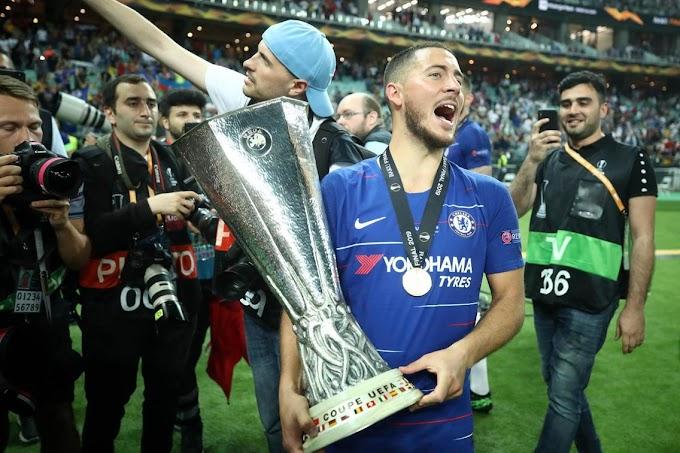 Eden Hazard crowned Europa League Player of the Season award