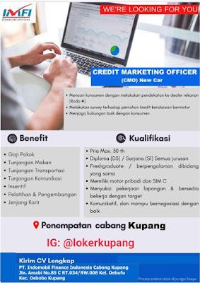 Lowongan Kerja PT Indomobil Finance Indonesia Cabang Kupang sebagai Credit Marketing Officer
