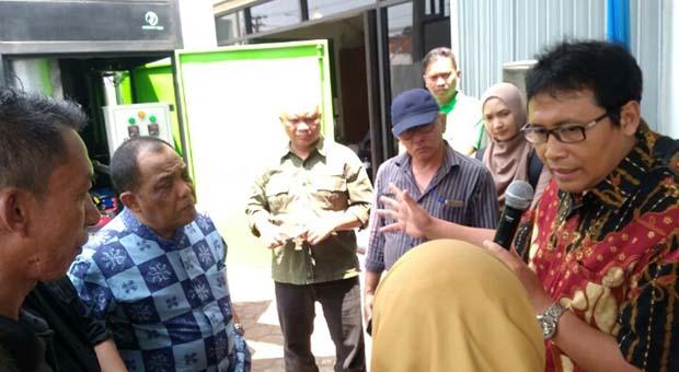 Demo STUNGTA Dihadiri Kadis DLH Jabar & Pakar Incinerator ITB