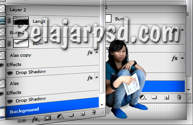 Apa Fungsi Layer Dalam Program Adobe Photoshop ?