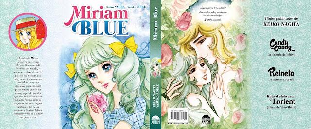 Arechi Manga muestra la sobrecubierta de Miriam Blue, a la venta en octubre.