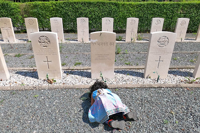 Graves of Indian Soldiers of First World War in Belgium - Ath Cemetery