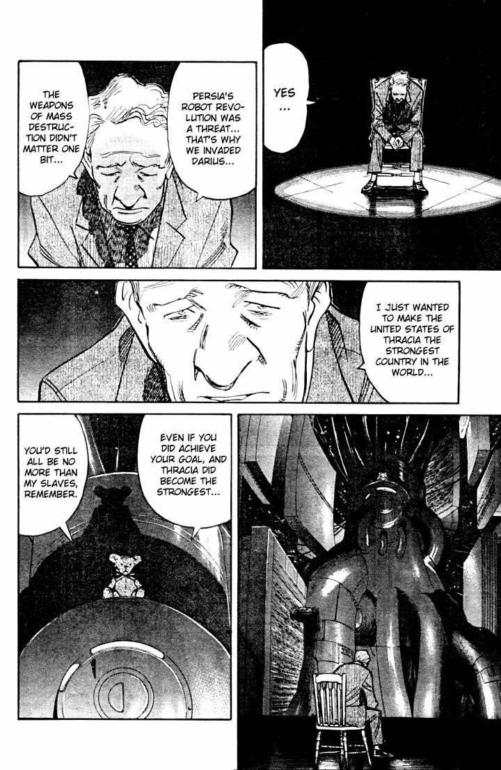 Page 25, Act 65: World's Strongest Robot from Naoki Urasawa's Pluto Volume 8
