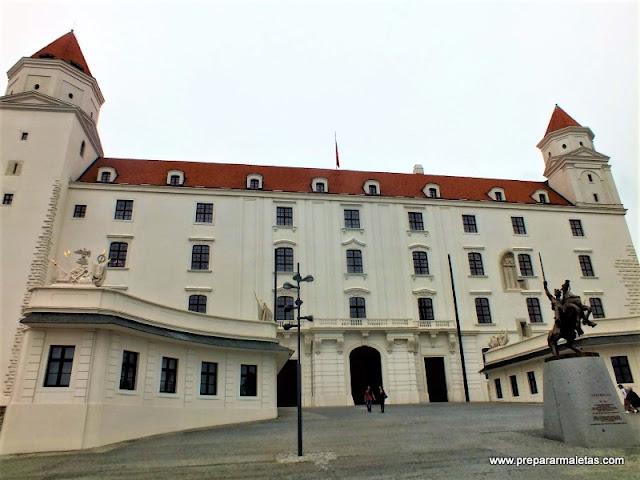 visitar el castillo de Bratislava