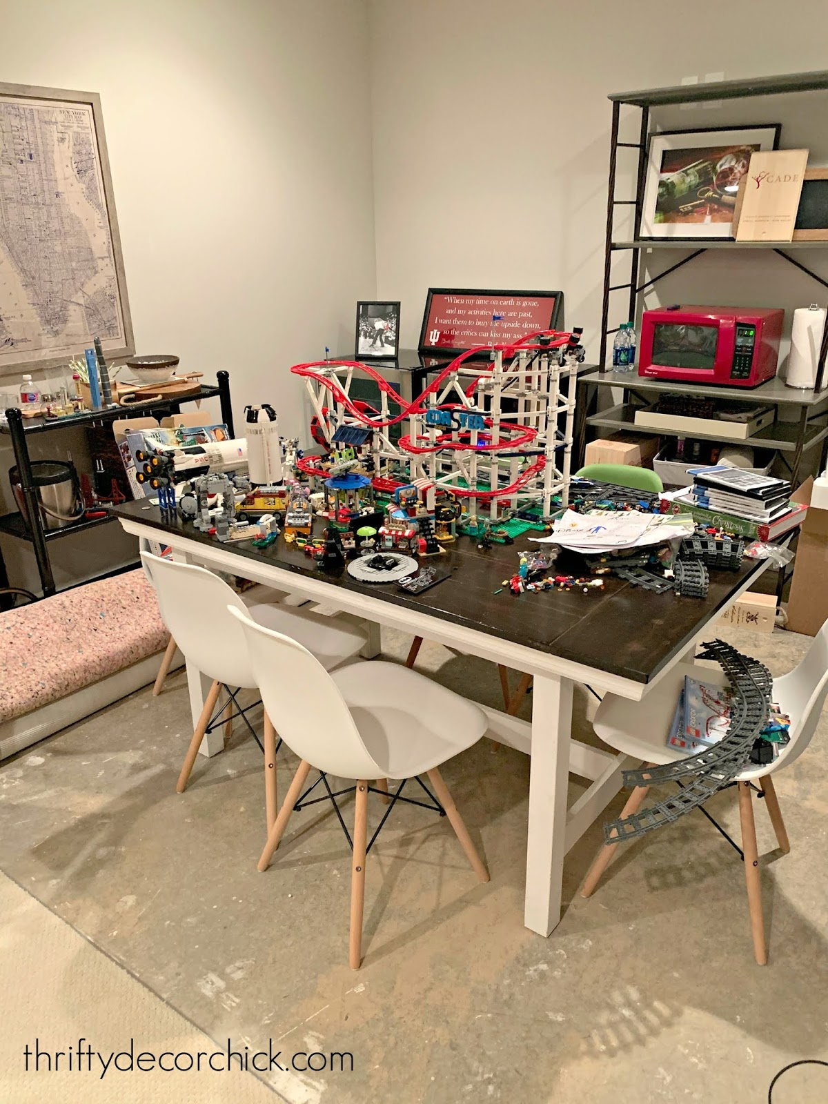 Decrapifying our biggest problem area from Thrifty Decor Chick