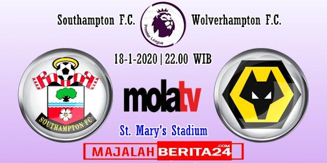 Prediksi Southampton vs Wolverhampton — 18 Januari 2020