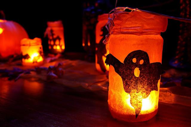 faire de la déco d'halloween avec les enfants