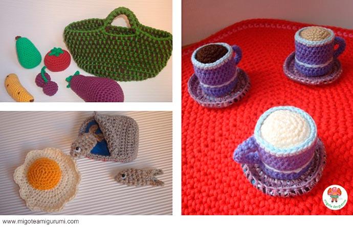 accesorios de cocina tejidos en ganchillo y amigurumi - migoteamigurumi.com