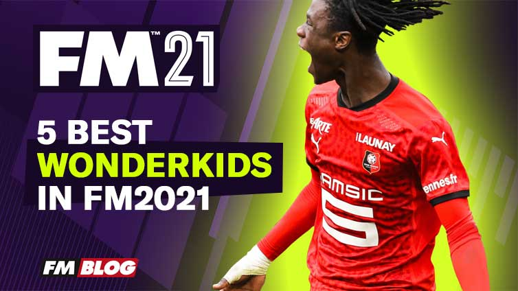 5 Best Wonderkids in Football Manager 2021| FM21