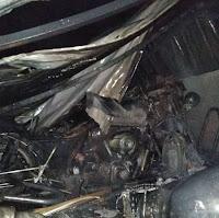 12 Motor Sport di Bali Terbakar, diduga Api Berasal dari Honda CRF