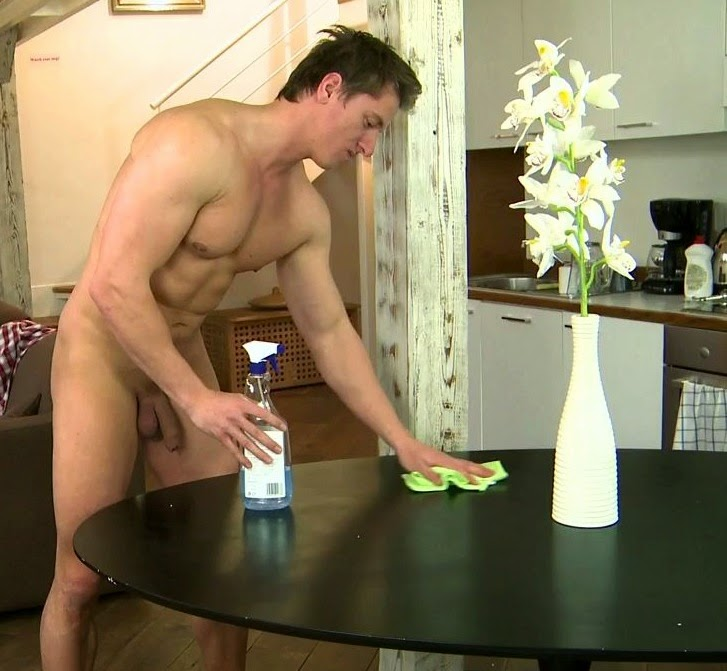 Nude Male Maid