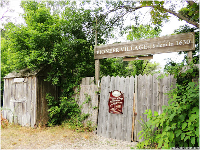 Pioneer Village en Salem, Massachusetts