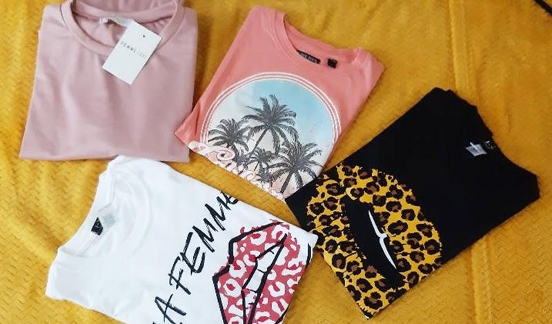 Primele tricouri comandate de pe site-ul Femme Luxe !