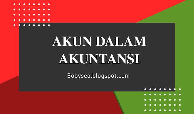 Pengertian akun, Penggolongan akun, Tujuan akun Dalam Akuntansi