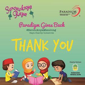 Dunia Penuh Gosip Paradigm Mall Petaling Jaya Menyebarkan Kegembiraan Sempena Hari Raya