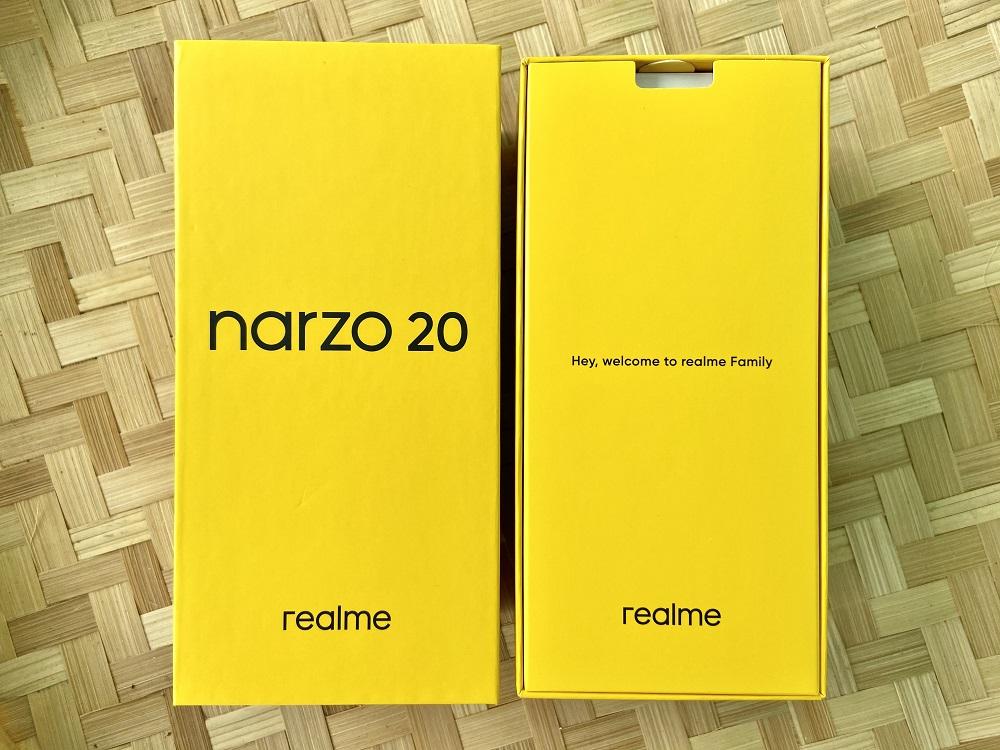 realme narzo 20 Inside the Box