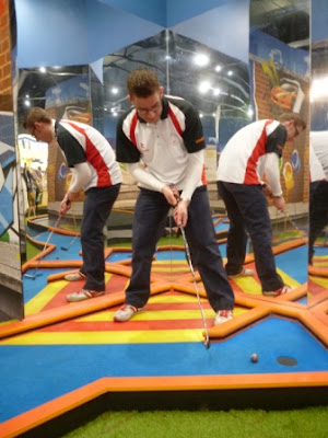 Krazy Golf course at Merry Hill shopping centre