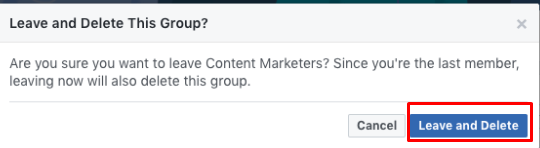 How To Delete Groups On Facebook<br/>