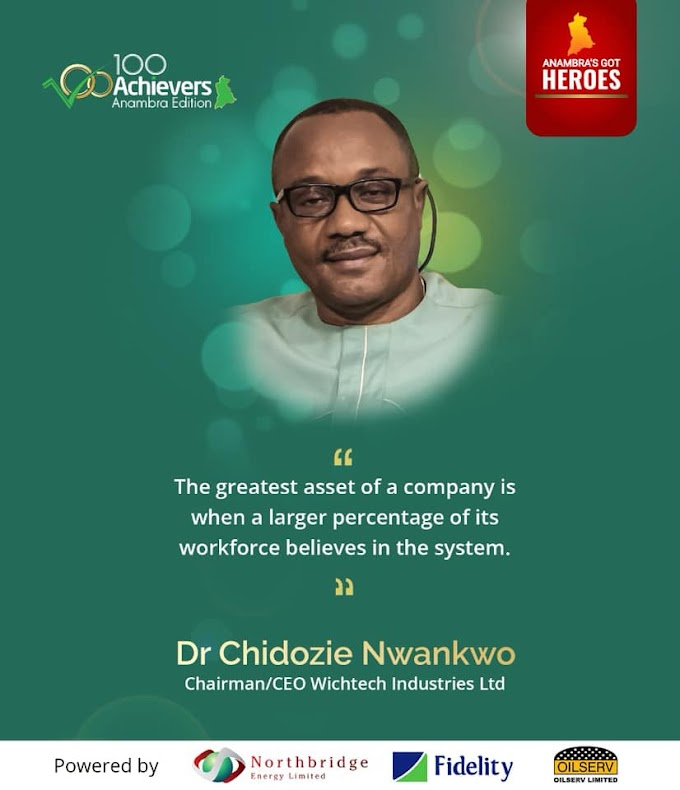 PROFILE OF EVANG. DR CHIDOZIE WILSON NWANKWO, CHAIRMAN WICHTECH GROUP OF COMPANIES.