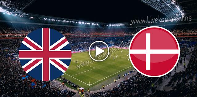موعد مباراة الدنمارك وإنجلترا بث مباشر بتاريخ 08-09-2020 دوري الأمم الأوروبية