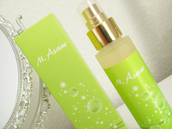 M. Asam Vino Gold Beauty Elixir Makeup Setting Spray, Review, Testbericht, Erfahrungen