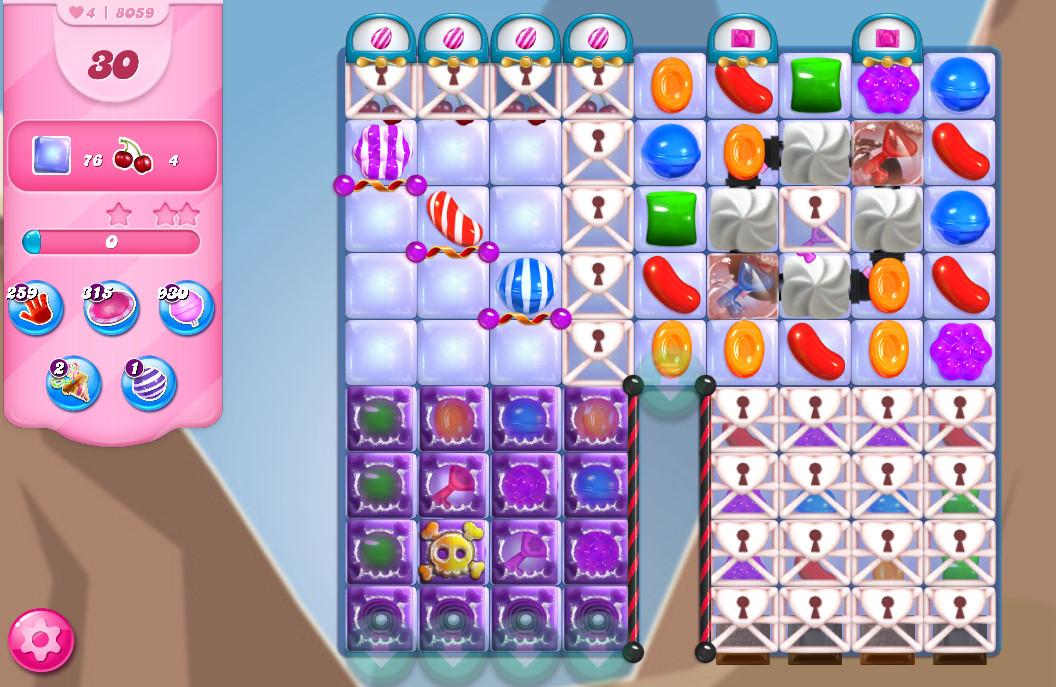 Candy Crush Saga level 8059