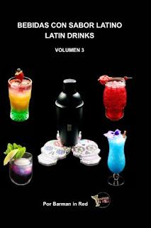 libro bebidas con sabor latino volumen 3