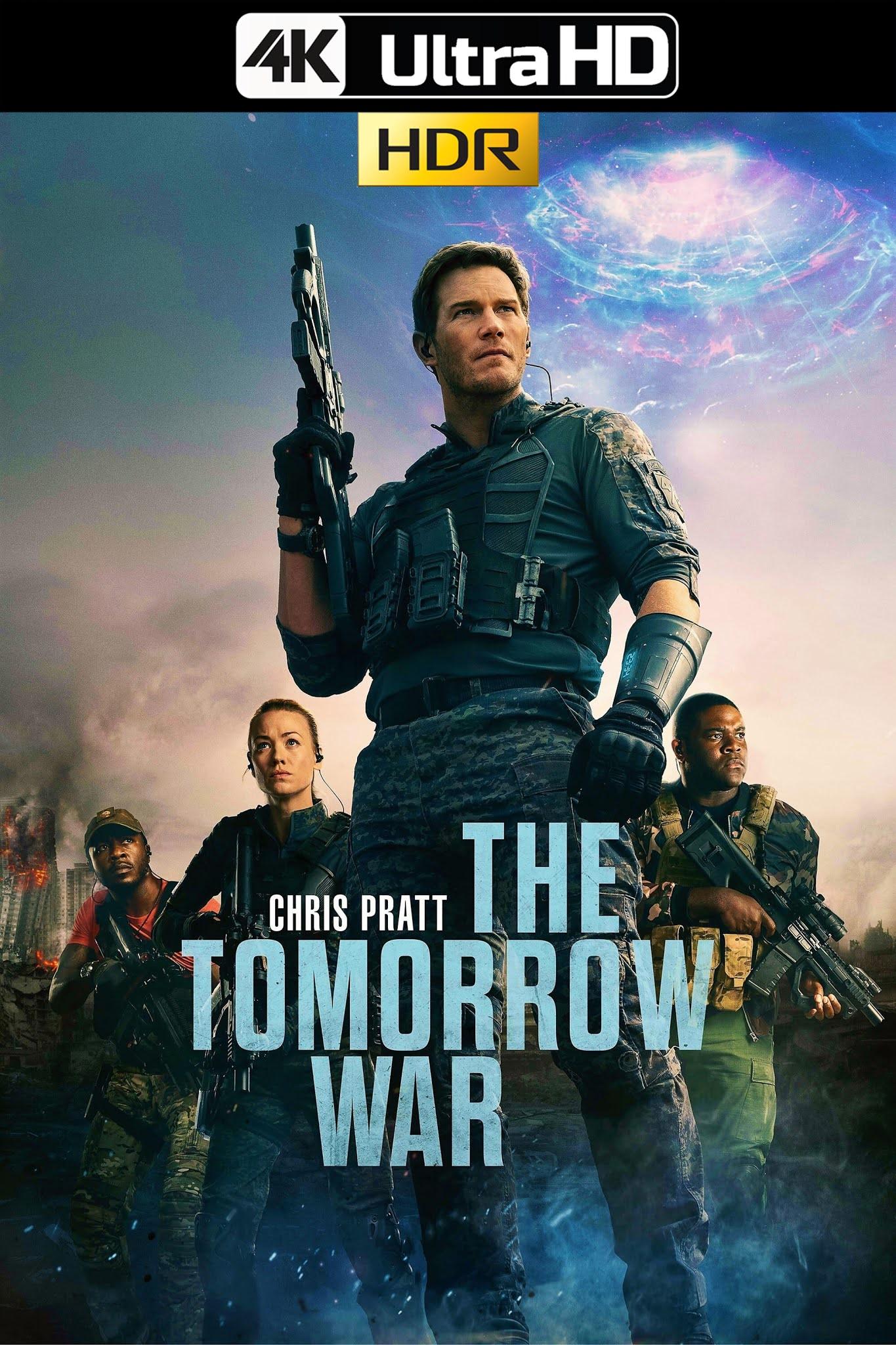 The Tomorrow War (2021) AMZN 4K-HDR WEB-DL 2160p Latino