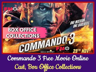 Commando 3 Hindi Action Movie Cast, Box Office And Images