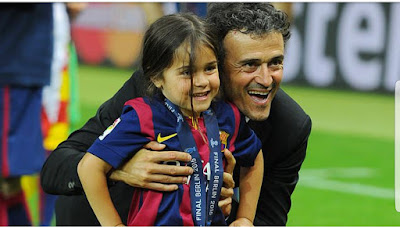 Minute Of Silence In Every La Liga Tie For Luis Enrique's Daughter