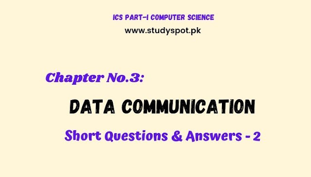 data communication short questions and answers