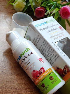MamaEarth Natural Radiance Day Cream Review