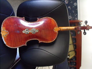 Picture of antique violin