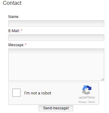 Cara Membuat Form Contact Us Pada Blog