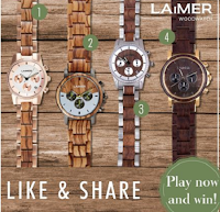 Logo LAiMER : vinci gratis un cronografo uomo o donna a tua scelta