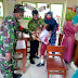 Babinsa Koramil 0824/19 Umbulsari, Dampingi Imunisasi 71 Siswa SD