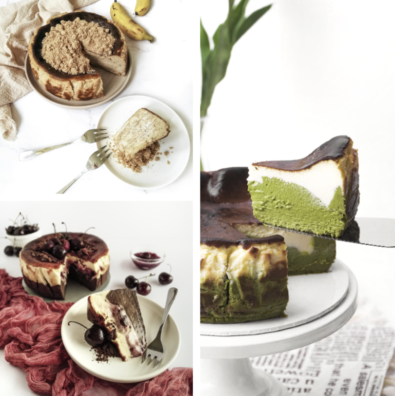The Night Owl's Oven Treats: Creatively creamy Basque cheesecakes & distinctively dreamy New York cookies