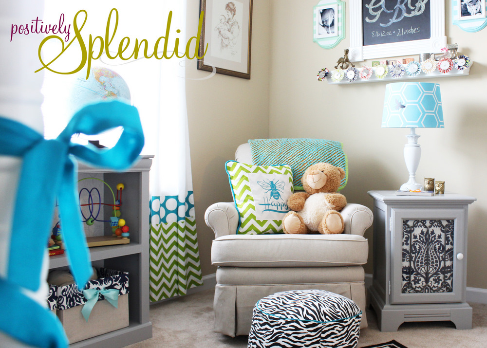 Baby Boy Nursery Tour: Home Sweet Home: Baby Boy Nursery Tour