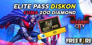 Cara Membeli Elite Pass FF 200 Diamond
