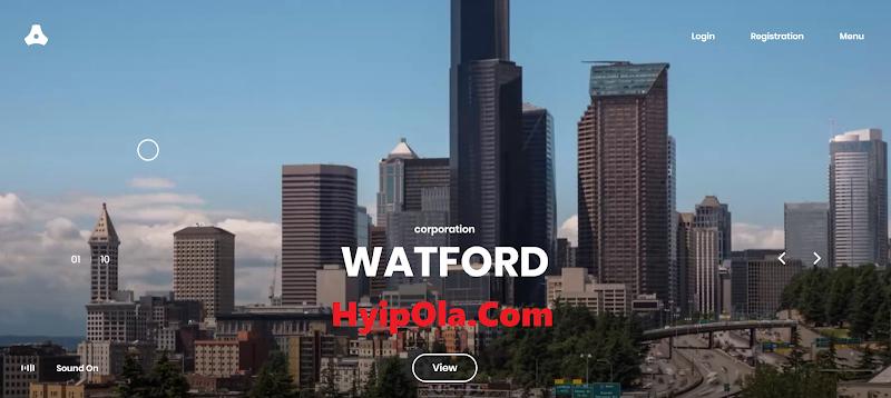 [SCAM] Review Watfordcorp - Dự án mua cổ phần từ tập đoàn Watford từ Mỹ - Lãi trả theo tuần