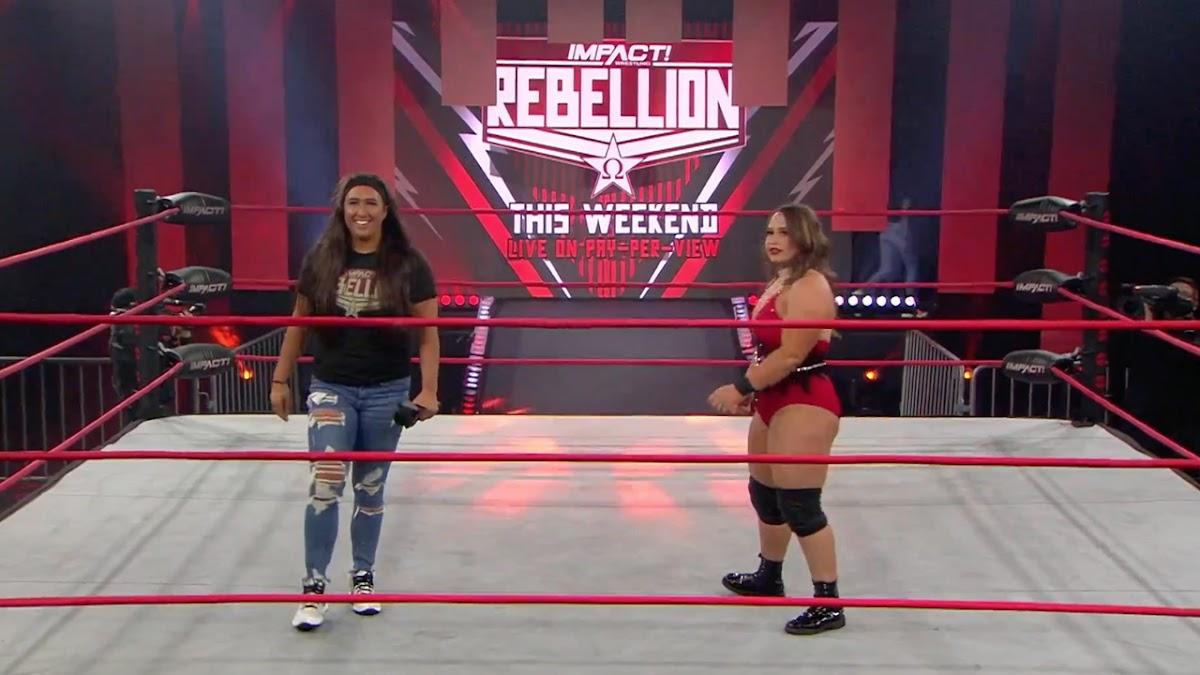 Jordynne Grace e Rachael Ellering conquistam o IMPACT Knockouts Tag Team Championship