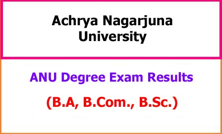 ANU Degree Results