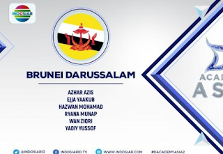 Wakil peserta Dangsut Academy Asia 2 asal Brunei Darussalam