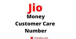 Jio Money Customer Care Number