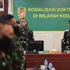 Pangdam Hasanuddin Buka Sosialisasi Doktrin TNI AD Kartika Eka Paksi