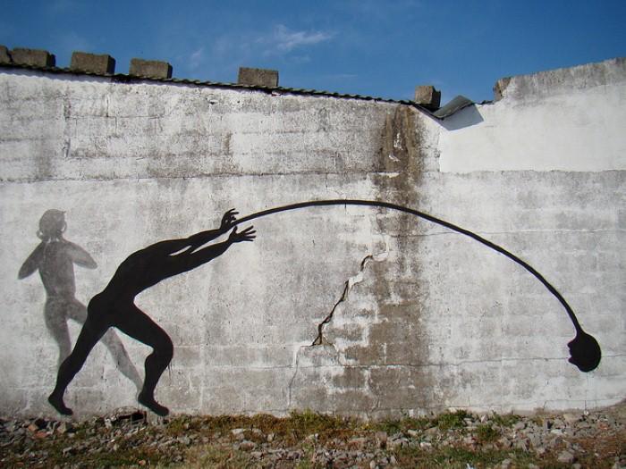 Фотографии работ уличного художника. Sam3 29