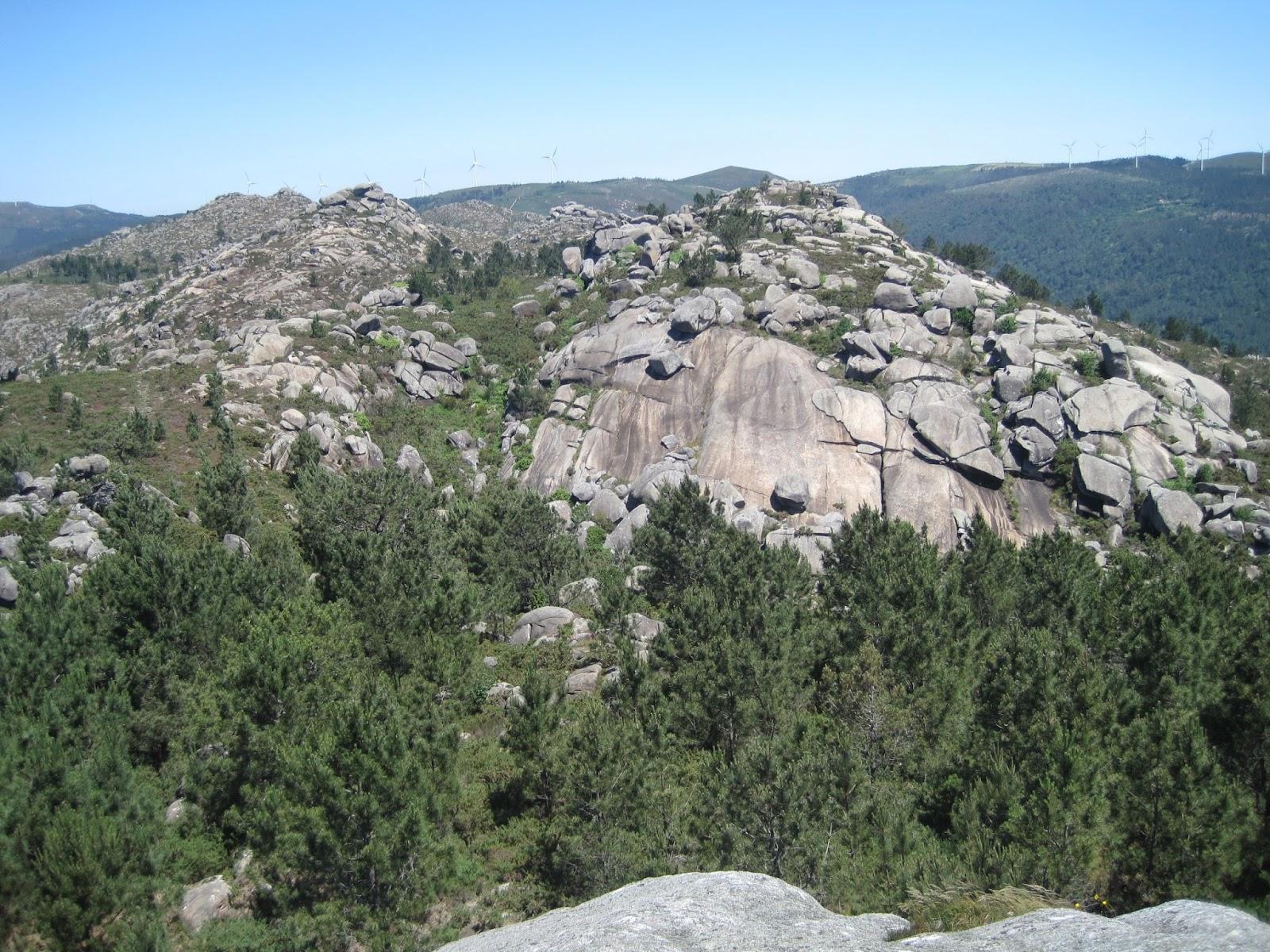 A Braña desde A Pedra do Cadro en Esteiro Muros