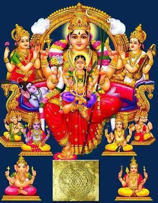 ലളിതാ അഷ്ടോത്തര ശതനാമാവലി Lalita Ashtothara Sathanamavali Malayalam Lyrics